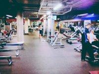 Duża siłownia
